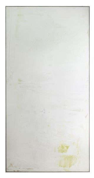 Dan Christensen,  Ariel,  1972 acrylic on canvas, 84 x 42 ½ inches