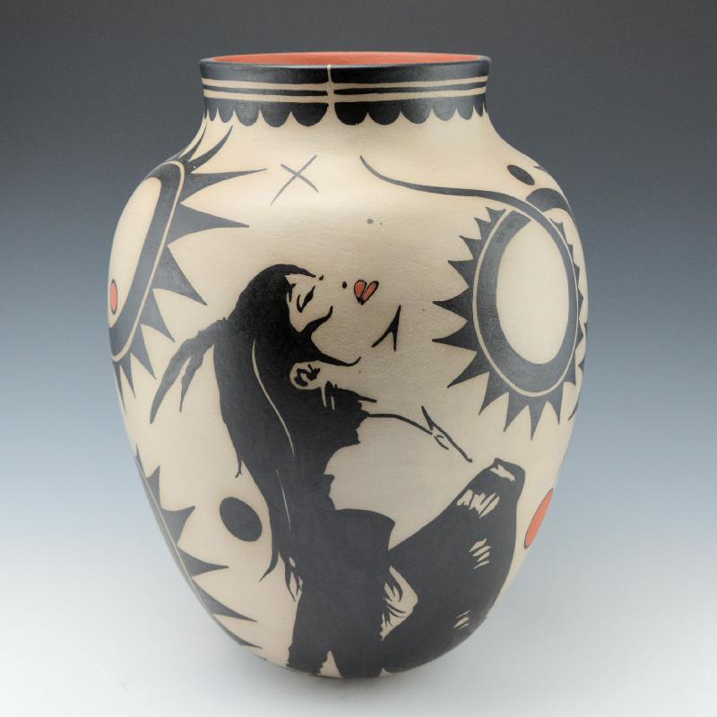 Virgil Ortiz, Blind Archer Water Jar, 2015