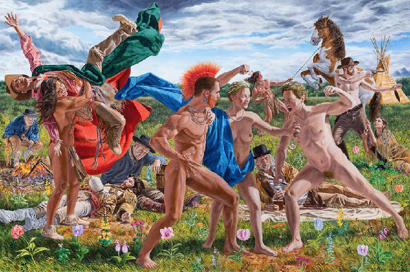 Kent Monkman, Cain and Abel, 2017