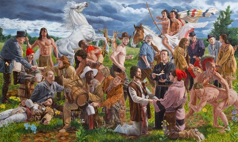 Kent Monkman, Wedding at Sodom, 2017