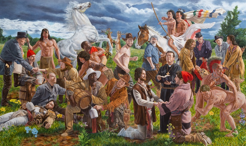 Kent Monkman, Wedding at Sodom, 2017