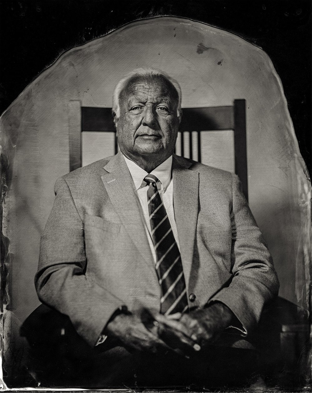 Will Wilson, Chairman John A. Barrett, citizen of Citizen Potawatomi Nation, 2016