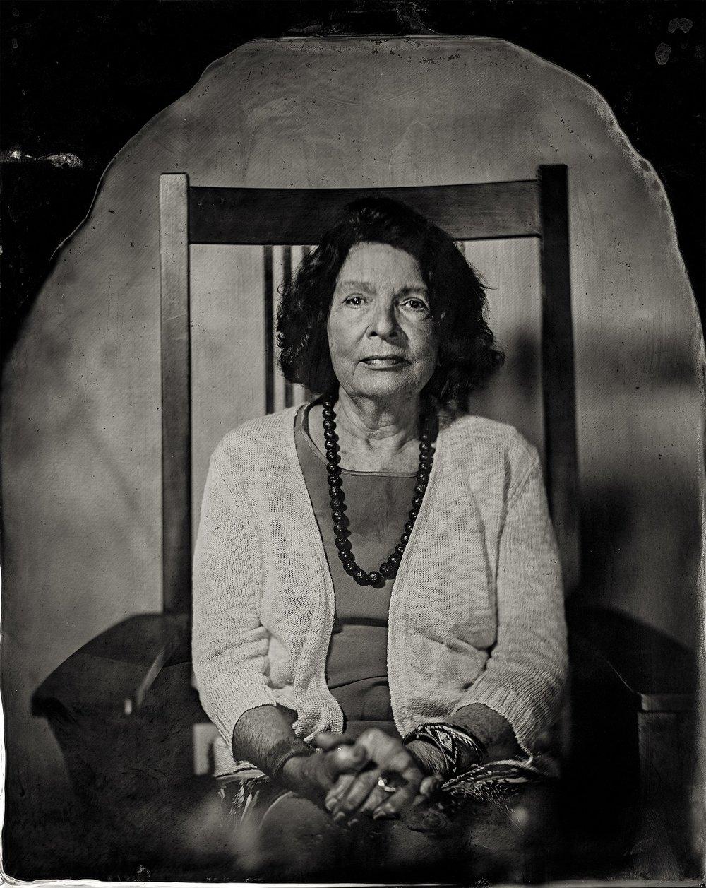 Will Wilson, Mary Jo Watson, citizen of Seminole Nation of Oklahoma, 2016