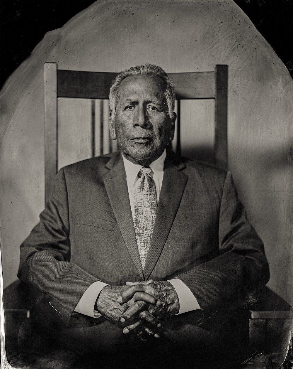 Enoch Kelly Haney, citizen of Seminole Nation of Oklahoma, 2016