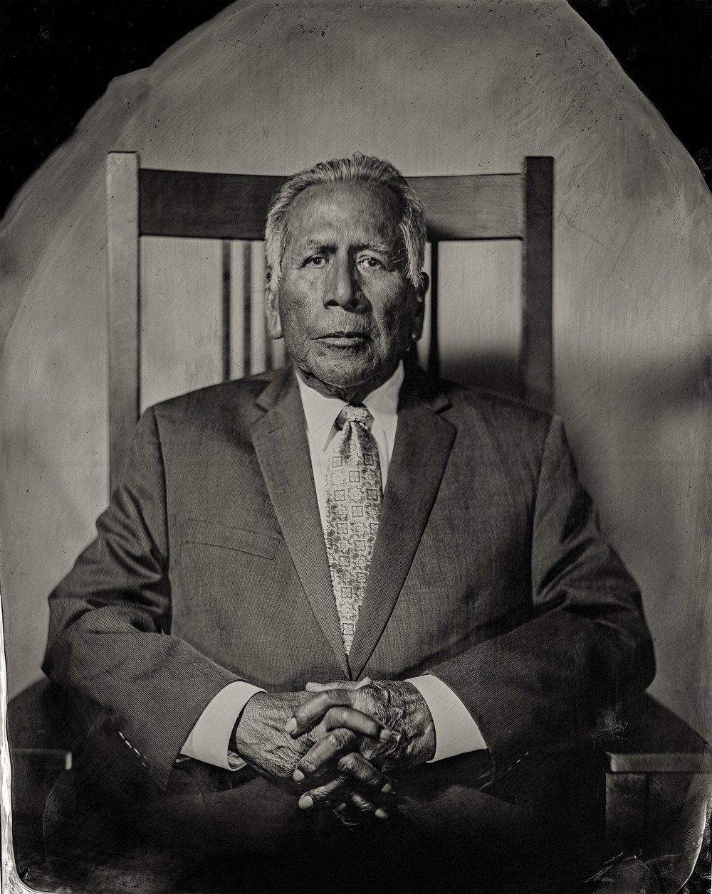 Will Wilson, Enoch Kelly Haney, citizen of Seminole Nation of Oklahoma, 2016
