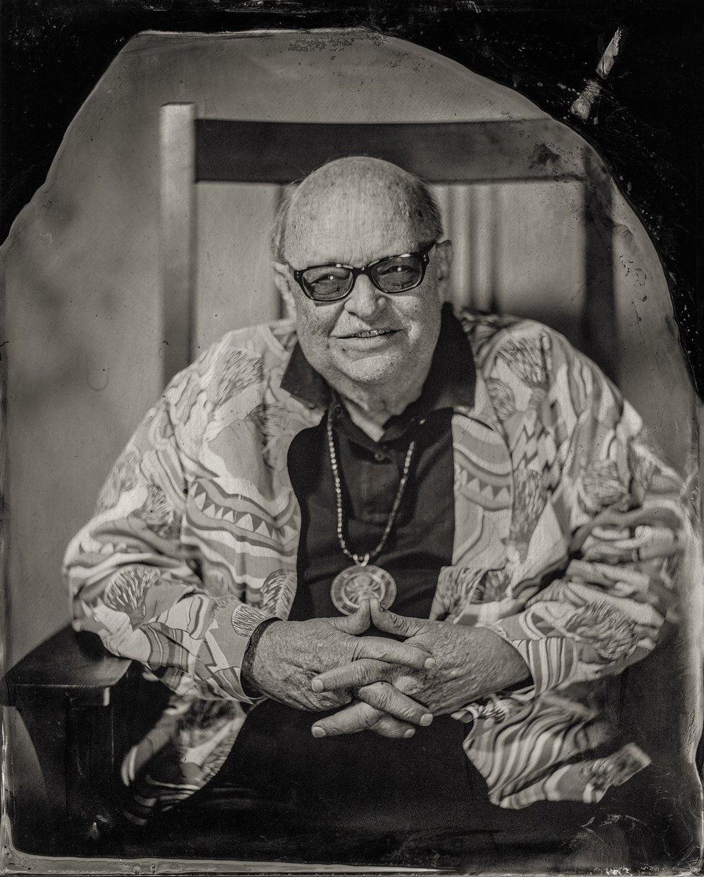 Will Wilson, Rennard Strickland, citizen of Osage Nation and affiliated Cherokee, 2016
