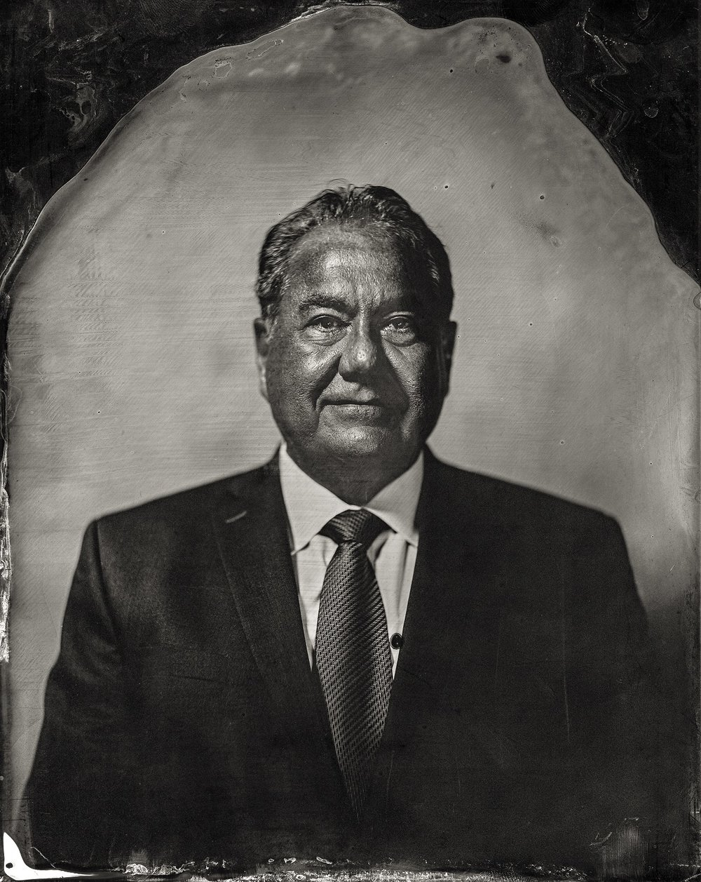 Will Wilson, Chief Geoffrey Standing Bear, citizen of Osage Nation, 2016