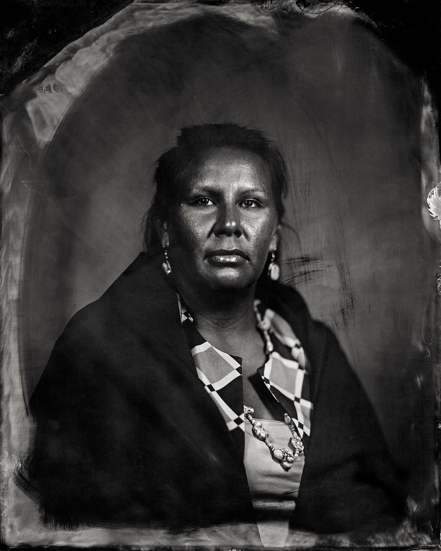 Will Wilson, Courtney Burgess, citizen of Otoe-Missouria Tribe and affiliated Iowa/Chickasaw/Sac & Fox, 2016