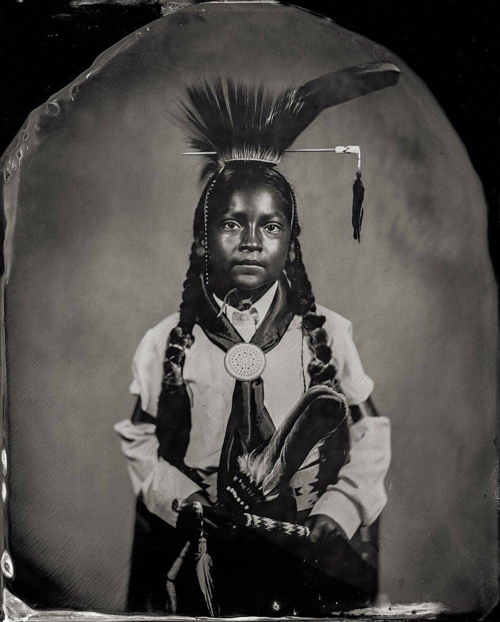 Will Wilson, Modesto Schonchin, citizen of Comanche Nation and affiliated Klamath/Modoc/Paiute, 2016