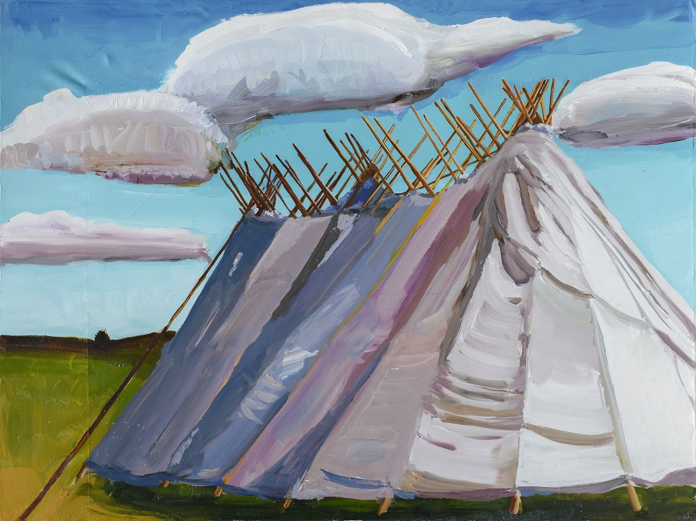 Mateo Romero, Sacred Pipe Bundles, Standing Rock, 2018