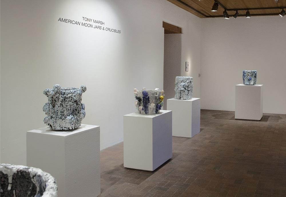 Tony Marsh | American Moon Jars and Crucibles