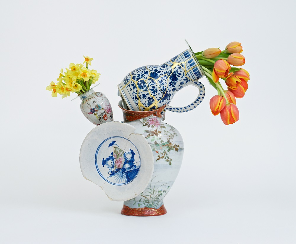 Bouke de Vries, Fragmented Vase 3, 2015