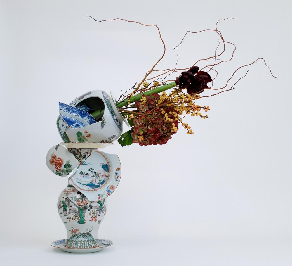 Bouke de Vries, Fragmented Vase 1, 2015