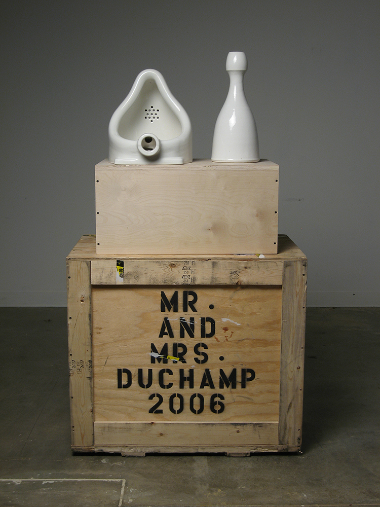 Tetsuya Yamada, Mr. and Mrs. Duchamp, 2006