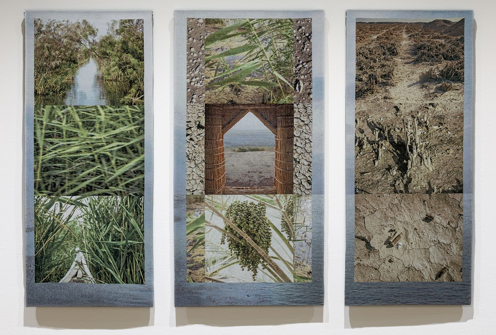 Eden Again, Southern Iraq Marshes (Triptych)