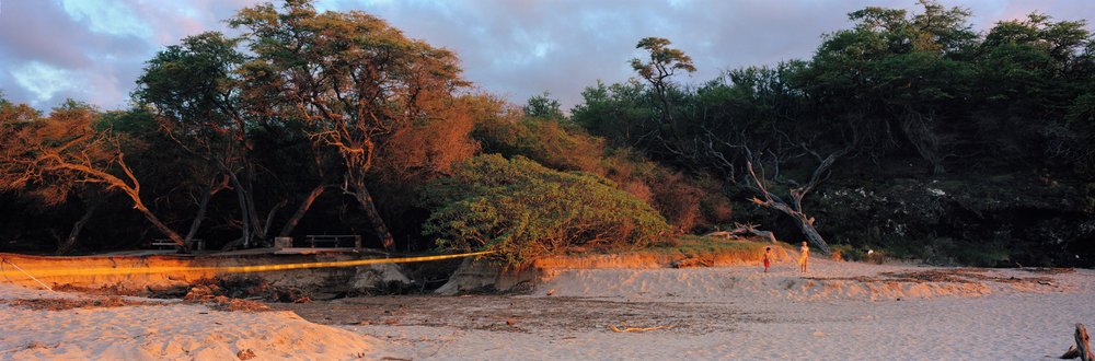 After the Flood, Hapuna Beach State Park, Hawaii, 2004