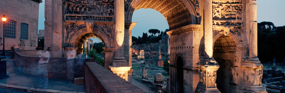 Arco, Roman Forum, Rome, Italy, 2003