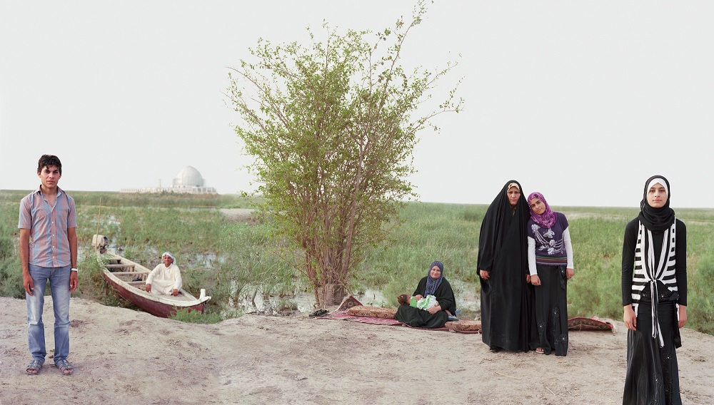 Adam and Eve in the Iraq Marshes, Near the Possible Historic Site of the Garden of Eden, 2011-2012