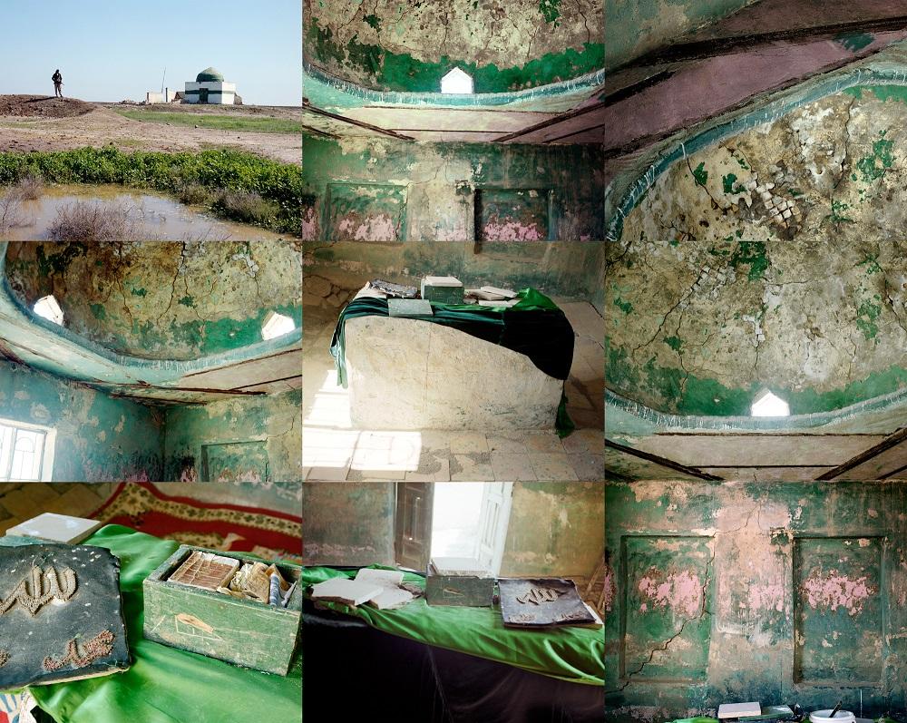 Saygal Shrine Palimpsest #1, 2011-2015