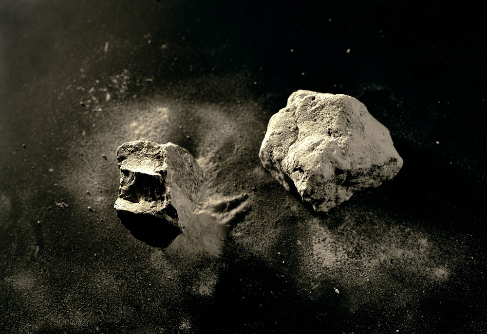 Mt. Toba Volcanic Ash, 74,000 Years Old, from Sumatra, found in Malaysia, 1/7, 2010
