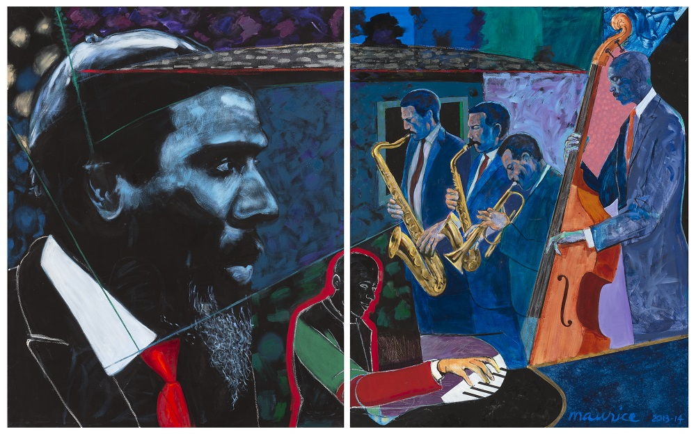 Monk's Mood (diptych), 2013-2014