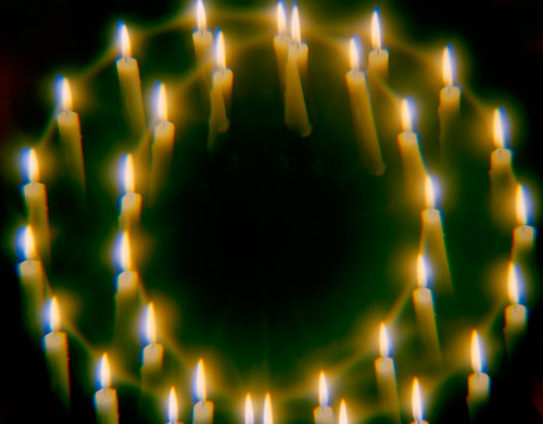 CANDLES AND CRYSTALS #1