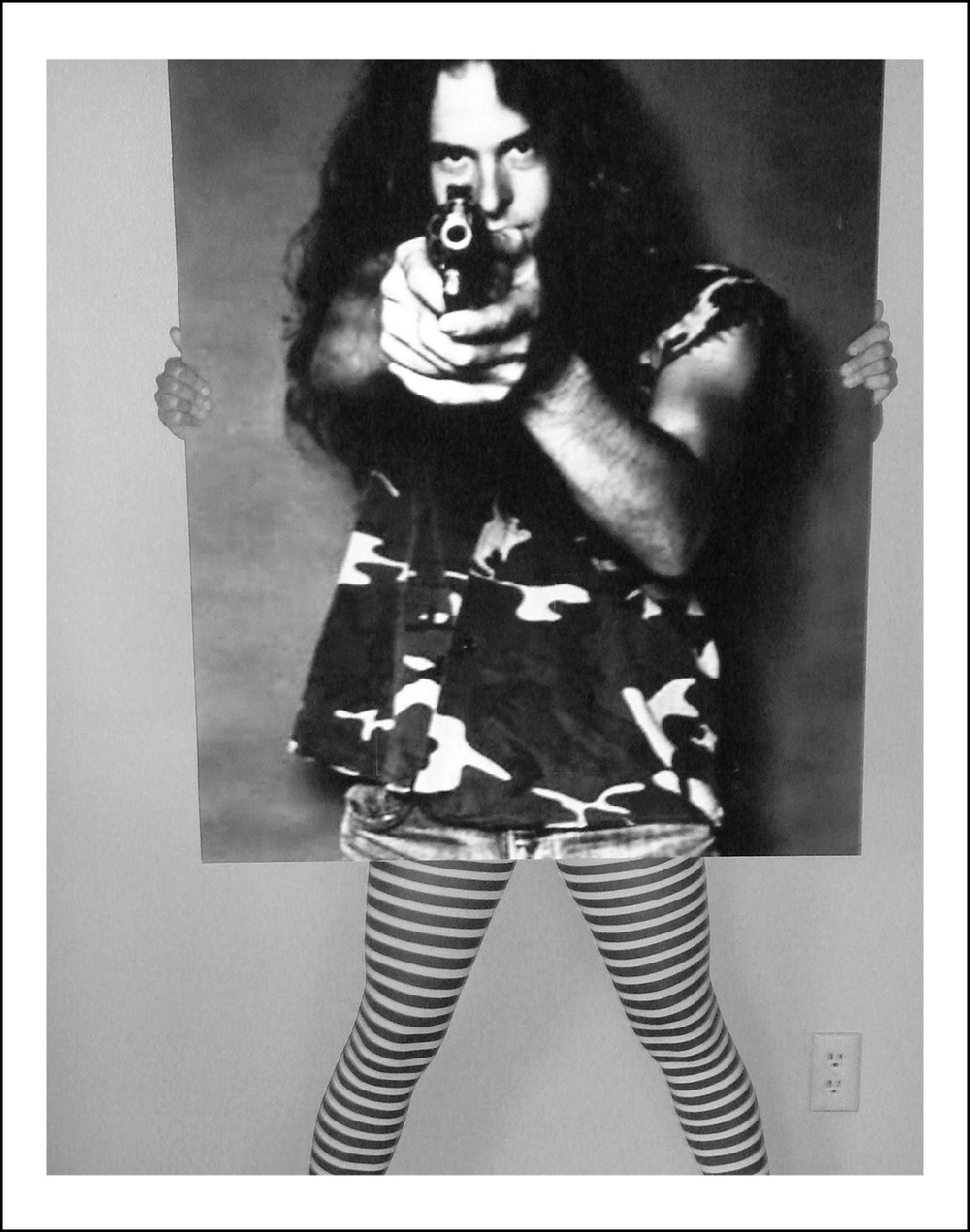 Carlee Fernandez Self Portrait as Ted Nugent