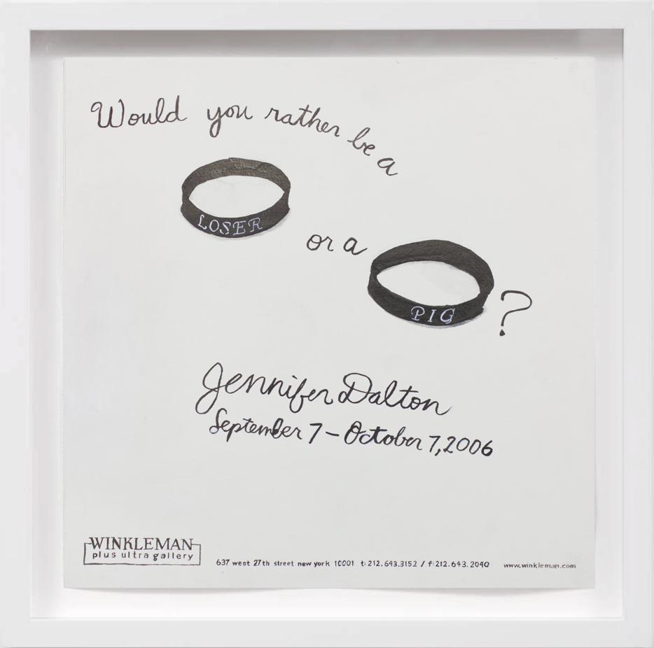 Jen Dalton (2006) 2017,  SOLD