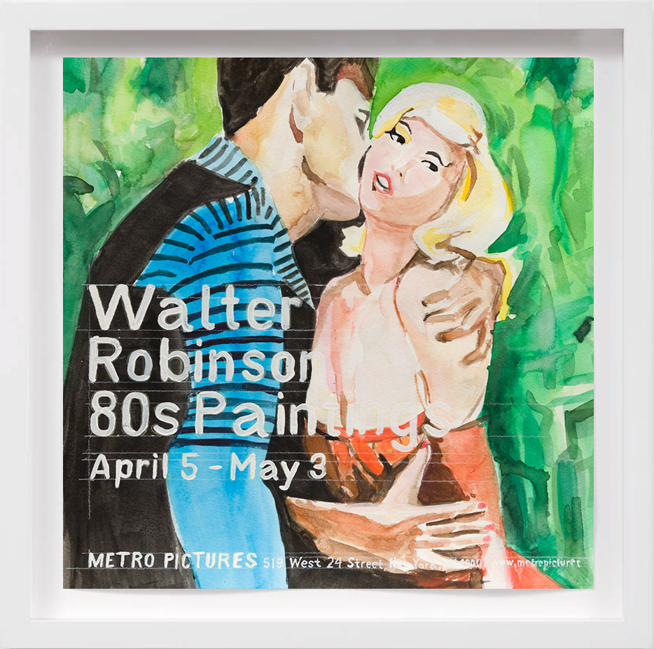 80s Paintings Walter Robinson (2008) 2017,  SOLD