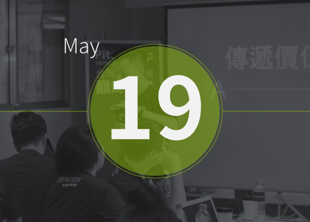 May.19 l PitchCamp 2018