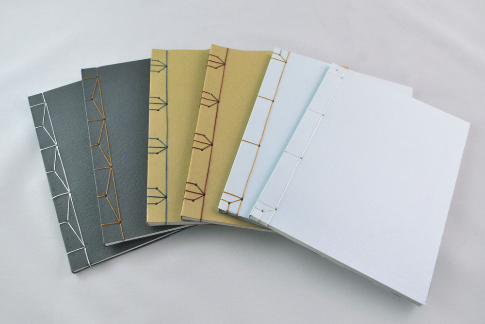 Japanese Stab-binding - great for every day notebooks and decorative sketchbooks