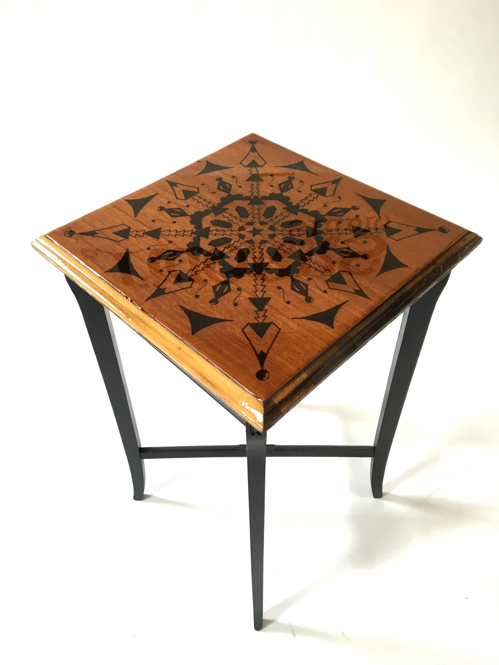 Square End Table $125