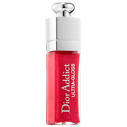 Dior Addict Ultra Gloss 765 UltraDior deluxe sample  0.06 oz $8.57  Code: GLOSSADDICT Released 5/10/16    Full Size 0.21 oz $30