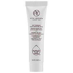 Vita Liberata Self-Tanning Night Moisture Mask deluxe sample  0.34 oz $6.95  Code: LETSMASK Released: 5/18/16   Full Size 2.2 oz $45