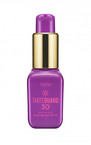 tarte Tarteguard 30 Sunscreen Lotion Broad Spectrum SPF 30 deluxe sample  0.23 oz $4.33 (or $6.90)  Code: HOTBI (choose 2) or HOTVIB (choose 3) Released: 5/26/16   Full Size 1.7 oz $32