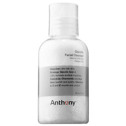 (PICK THREE) ANTHONY   Glycolic Facial Cleanser deluxe sample -  2 oz $7  Code: GIVEGET Released 6/7/16     Full size 8 oz $28