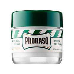 (PICK THREE) PRORASO   Pre-Shave Cream - Refreshing and Toning Formula deluxe sample -  0.5 oz $1.80  Code: GIVEGET Released 6/7/16     Full Size 3.6 oz $13