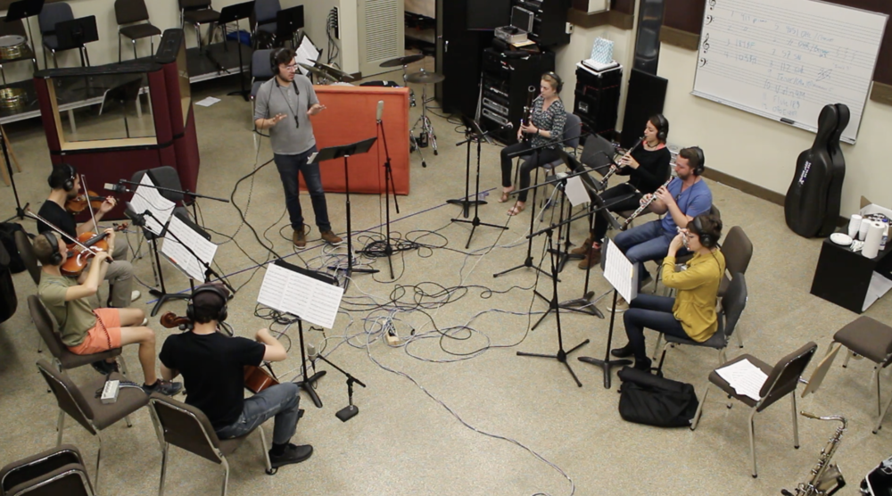 - CMA conducting the Frost Recording Ensemble