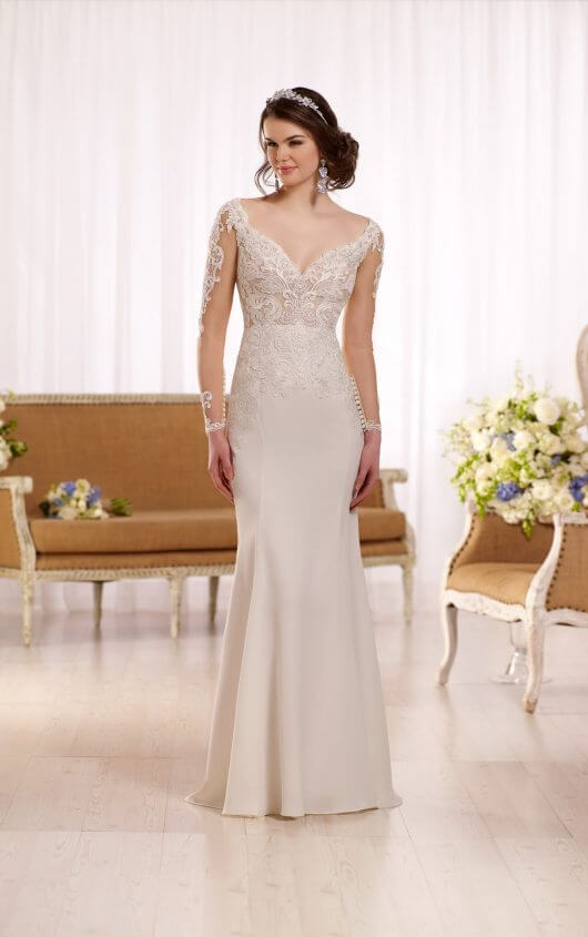 {Try these gowns on at Something Blue Bridal}
