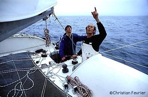 1983, première nav avec le maître