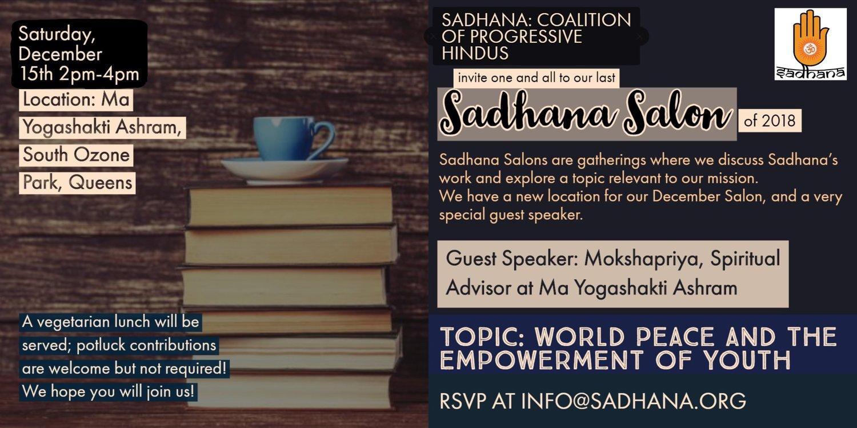 Upcoming Events — Sadhana