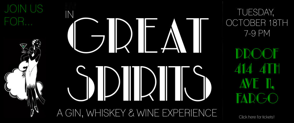 In Great Spirits  is generously sponsored by our friends at  Happy Harry's  and  Proof Artisan Distillers . Proceeds support Mind Shift.