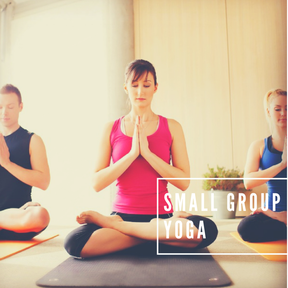 Small Group Classes   Why not arrange a yoga or Pilates class at your own convenience. A great way to have fun with your friends whilst benefit from the closer attention a small group offers.