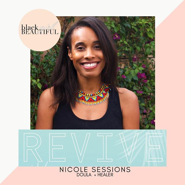 Black girl, your womb is a source of power. She brings life, creativity, and love. You must nurture her. Meet  @thesweetyogini, a doula and healer who will be opening up about the importance of loving your womb at REVIVE. For more info and tickets visit blackgirlbeautiful.com #bgbrevive
