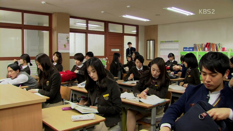 Class 2-2 of Seungri High School // Source: KBS 2