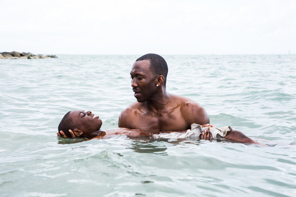 Little (Alex Hibbert) and Juan(Mahershala Ali) in 'Moonlight' || Source: Photo Courtesy of HOME