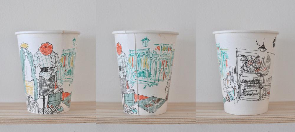 A Cup Illustration ||Photo Courtesy of Mariya Suzuki