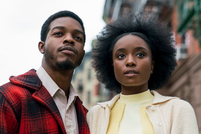 Fonny Hunt ( Stephan James ) and Tish Rivers ( KiKi Layne ) in  If Beale Street Could Talk  ||  Source :  Entertainment One Films