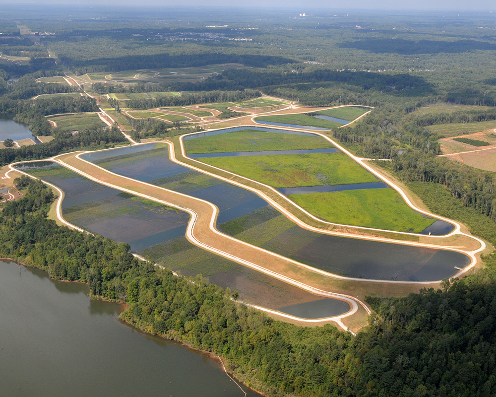 The Huie Constructed Wetlands in Clayton County, GA. Source:  American Academy of Environmental Engineers & Scientists .