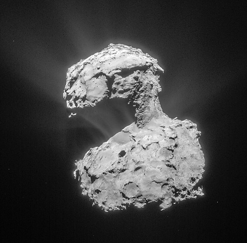 COMET 67P/CHURYUMOV-GERASIMENKO (CLICK ON IMAGE FOR DETAILS)